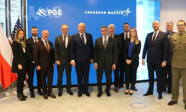 Polska Grupa Zbrojeniowa podpisała porozumienie owspółpracy strategicznej zamerykańskim koncernem Lockheed Martin / Zdjęcie: PGZ