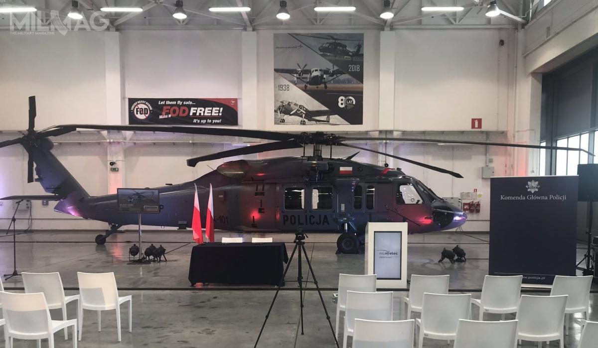 Zamawiany S-70i Black Hawk dołączy dodwóch pozostałych, naktóre umowę podpisano wmaju. Według deklaracji przedstawicieli Policji, łączne zapotrzebowanie nawiropłaty tego typu wynosi cztery.