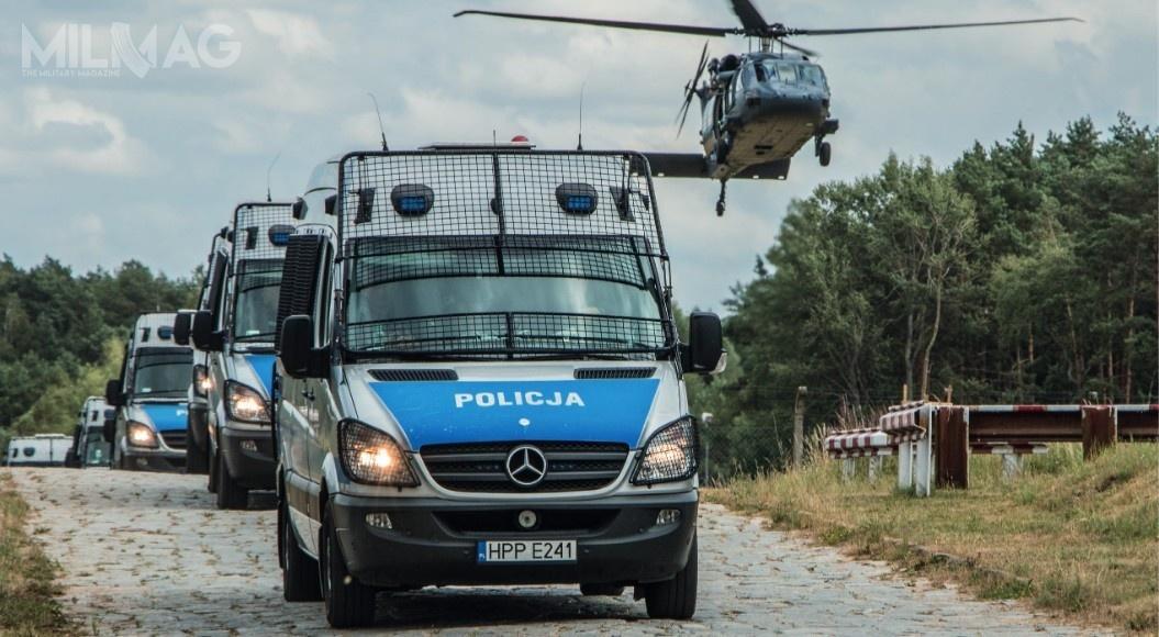 POLSECURE będzie towystawa wpełni poświęcona bezpieczeństwu publicznemu isłużbom mundurowym. WPolsce służbę wPolicji pełni blisko 98 tys. policjantów ipolicjantek / Zdjęcie: Polska Policja