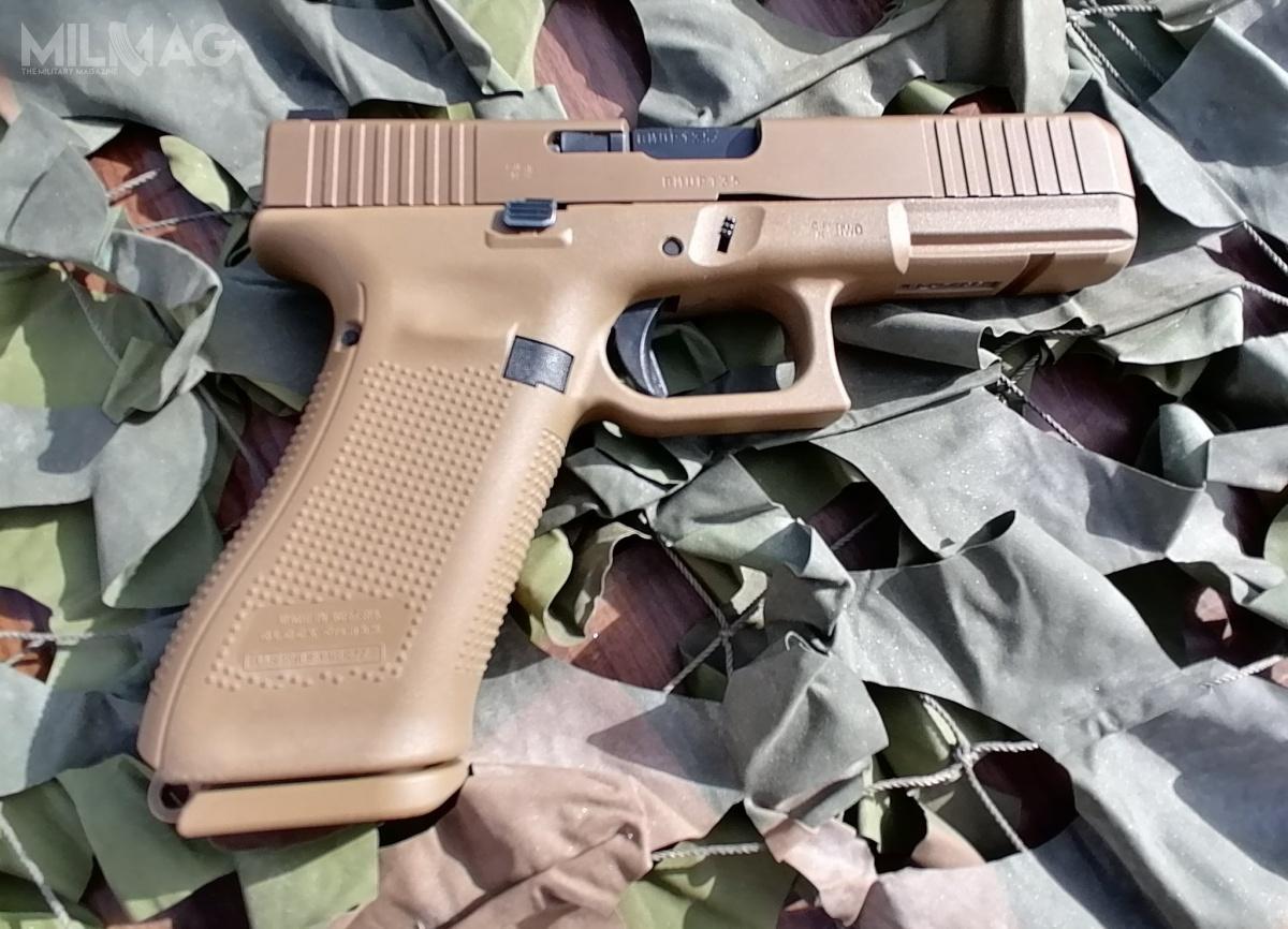 Glock 17 Gen5 zastąpi wportugalskich wojskach lądowych pistolety samopowtarzalne pistolety samopowtarzalne m/961 (Pistola 9mm Walther m/961) wprowadzone douzbrojenia w1961 wmiejsce Parabellum (Pistola 9mm Parabellum m/941) / Zdjęcie: Portugalskie siły zbrojne