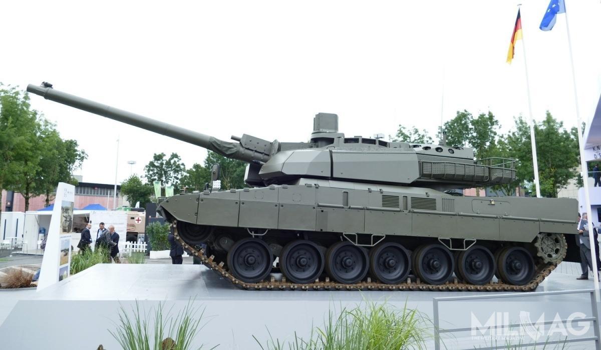 Bundestag dał zielone światło narozpoczęcie prac badawczo-rozwojowych nadfrancusko-niemieckim czołgiem nowej generacji okryptonimie MGCS / Zdjęcie: Remigiusz Wilk