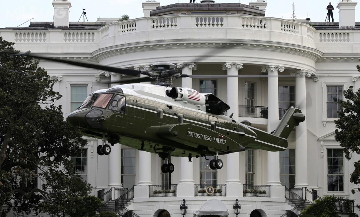 Pierwszy prototyp specjalnego VH-92A został oblatany 28 lipca 2017, natomiast pierwsze lądowanie natrawniku przedBiałym Domem miało miejsce 22 września 2018 / Zdjęcie: USMC