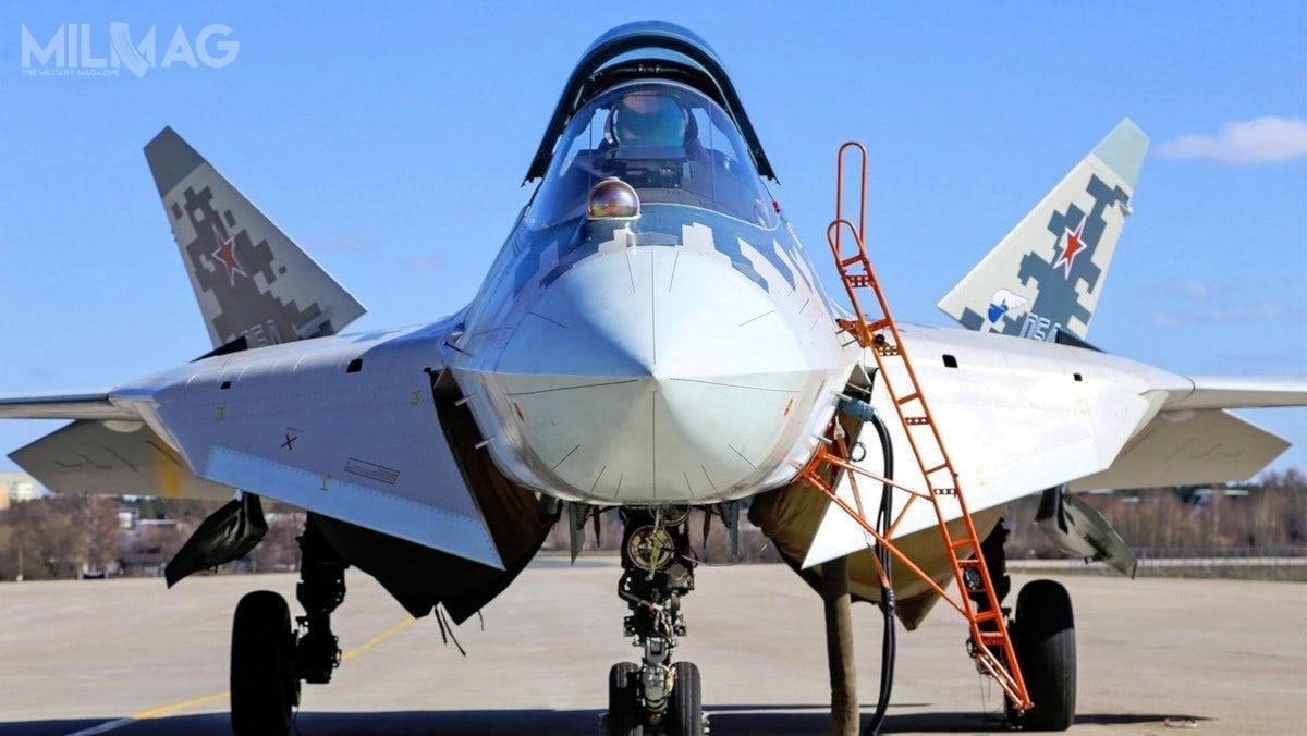 Zakup 76 Su-57 byłby największym jednorazowym zamówieniem whistorii rosyjskiego lotnictwa / Zdjęcia: Zjednoczona Korporacja Lotnicza (OAK)