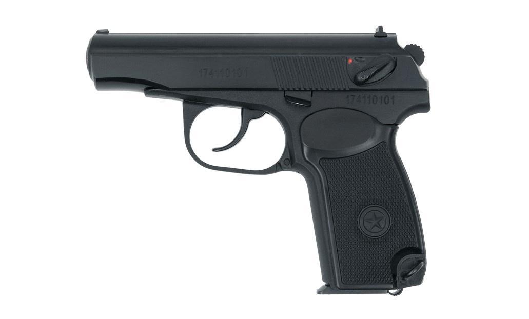Pistolet hukowy Bajkał R-411 przeznaczony jest głównie dla grup rekonstruktorskich, napotrzeby widowisk teatralnych ifilmowych. Długość całkowita broni wynosi 162 mm, wysokość 127 mm, szerokość 31 mm. Masa bezamunicji 780 g. Wkomplecie zR-411 jest jeden magazynek iinstrukcja