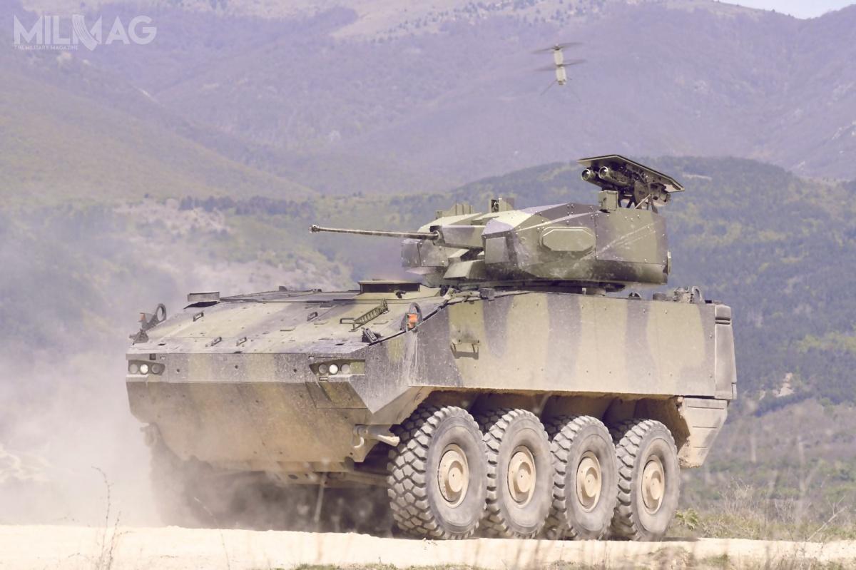 Rafael oferuje narynku amerykańskim m.in.zdalnie sterowany moduł uzbrojenia RCWS Samson z30-/40-mm armatą automatyczną, 7,62-mm sprzężonym karabinem maszynowym, wyrzutniami granatów dymnych ipodwójną wyrzutnią dla rodziny ppk Spike / Zdjęcia: Rafael Advanced Defense Systems
