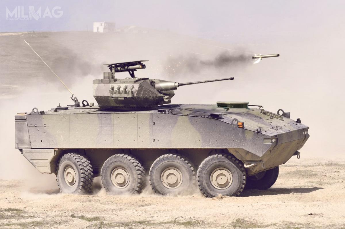 Wspólnie zeuropejskim konsorcjum GDELS, izraelska spółka Rafael Advanced Defense Systems oferuje bułgarskim wojskom lądowym kołowe transportery opancerzone MOWAG Piranha V zbezzałogową wieżą Samson RCWS