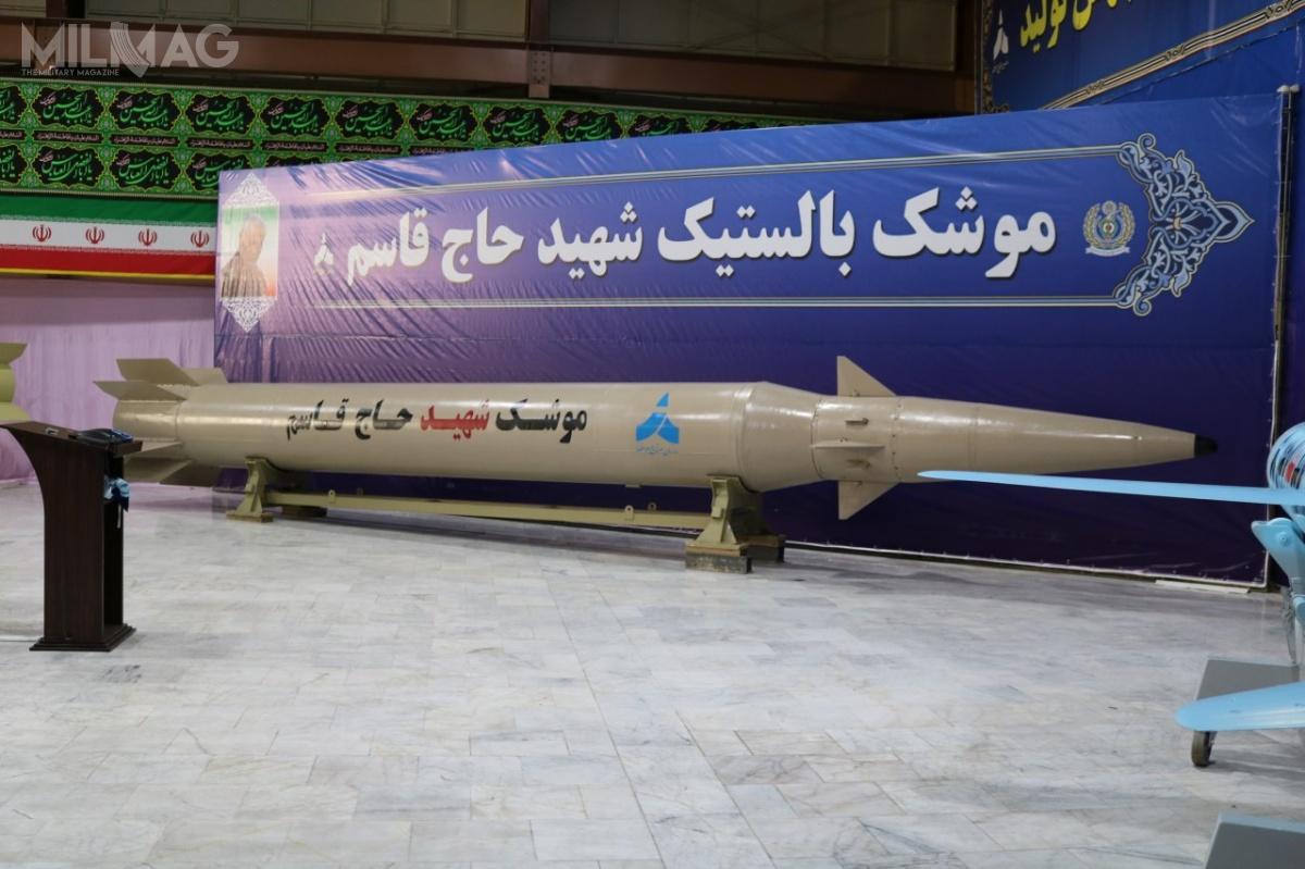 Wielkość ideklarowany zasięg pocisku balistycznego średniego zasięgu Martyr Hajj Qassem Soleimani sugeruje nakolejne postępy irańskiego przemysłu rakietowego wzakresie miniaturyzacji