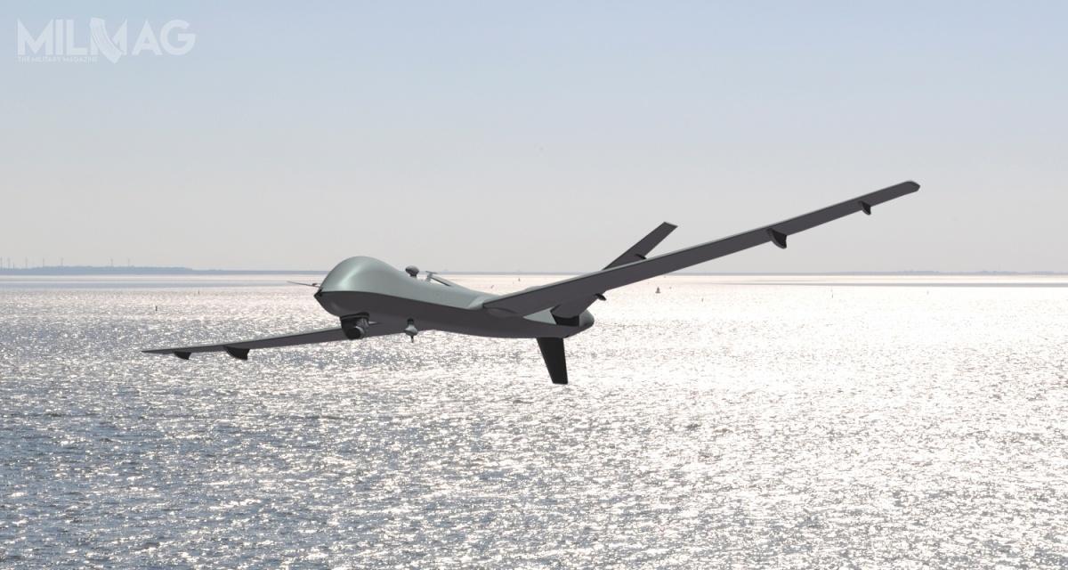 Holandia jest czwartym użytkownikiem MQ-9 Reaper wEuropie, poFrancji, Wielkiej Brytanii iWłoszech. Kolejnym ma być Hiszpania negocjujająca umowę zUSA / Grafika: General Atomics Aeronautical Systems