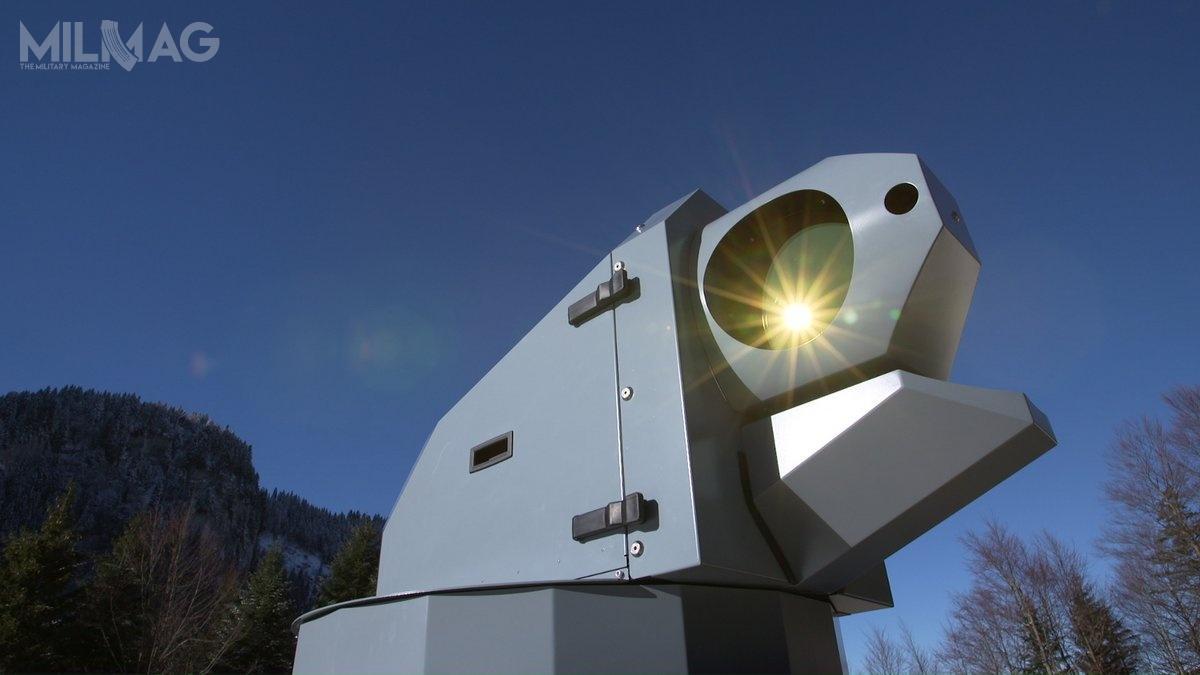 Najnowsze testy wykazały, żestacja uzbrojenia przyszłego systemu broni laserowej może być wykorzystywana doskutecznego rażenia celów powietrznych