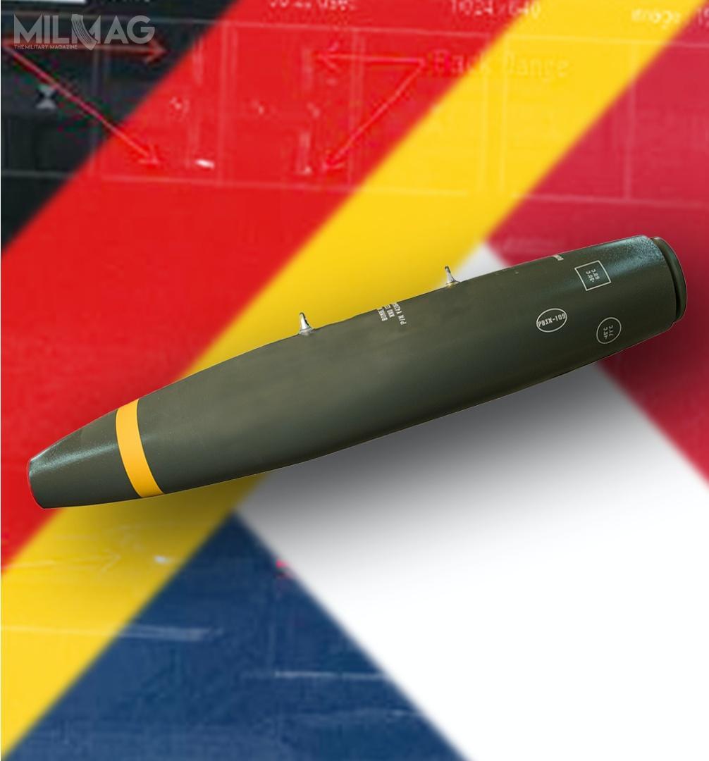 Niemiecka spółka Rheinmetall otrzymała zlecenia nadostawy łącznie ponad 2tysięcy bomb ogólnego przeznaczenia ozwiększonej efektywności Mk 82-EP dla wojsk lotniczych Niemiec iFrancji / Zdjęcie: Rheinmetall