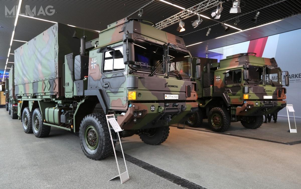 Samochody ciężarowe zrodziny HX2 są produkowane głównie zkomponentów wyprodukowanych wNiemczech (obejmuje tonp.silniki, osie, skrzynie biegów izabudowę), aleich montaż odbywa się wzakładach spółki joint venture RMMV wWiedniu. Wśród użytkowników pojazdów, oprócz Niemiec, są siły zbrojne Wielkiej Brytanii, Australii, Nowej Zelandii iDanii. Wkrótce dołączą donich Norwegia iSzwecja / Zdjęcie: RMMV
