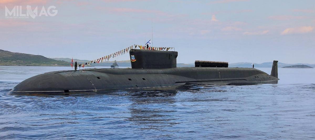 Marynarka Wojenna Rosji dysponuje obecnie trzema okrętami podwodnymi projektu 955/955A Boriej/Boriej-A. Naróżnych etapach budowy pozostaje pięć kolejnych, apierwotne plany mówiły ozapotrzebowaniu nałącznie 14 okrętów strategicznych nowej generacji / Zdjęcie: Ministerstwo Obrony Federacji Rosyjskiej