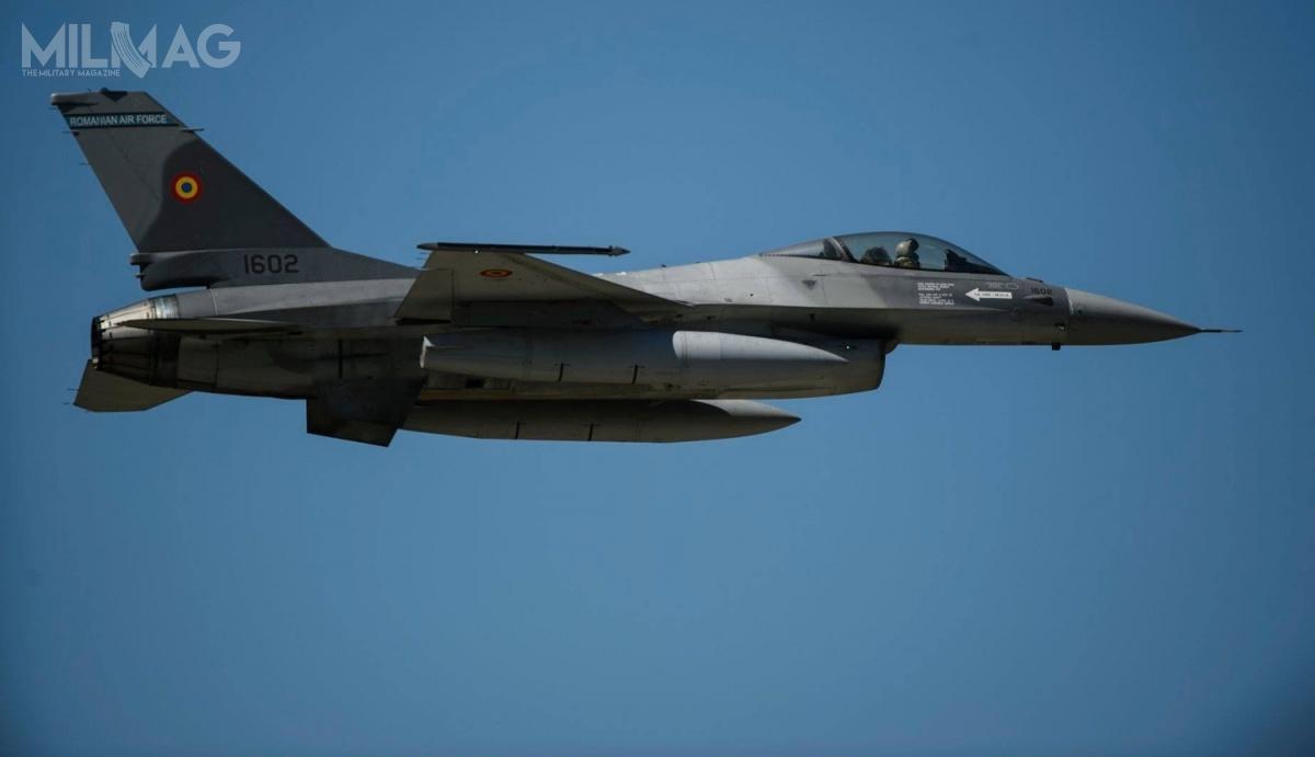 Rumuńskie F-16 zastępują 26 myśliwców MiG-21 LanceR / Zdjęcie: Jonathan Snyder, USAF