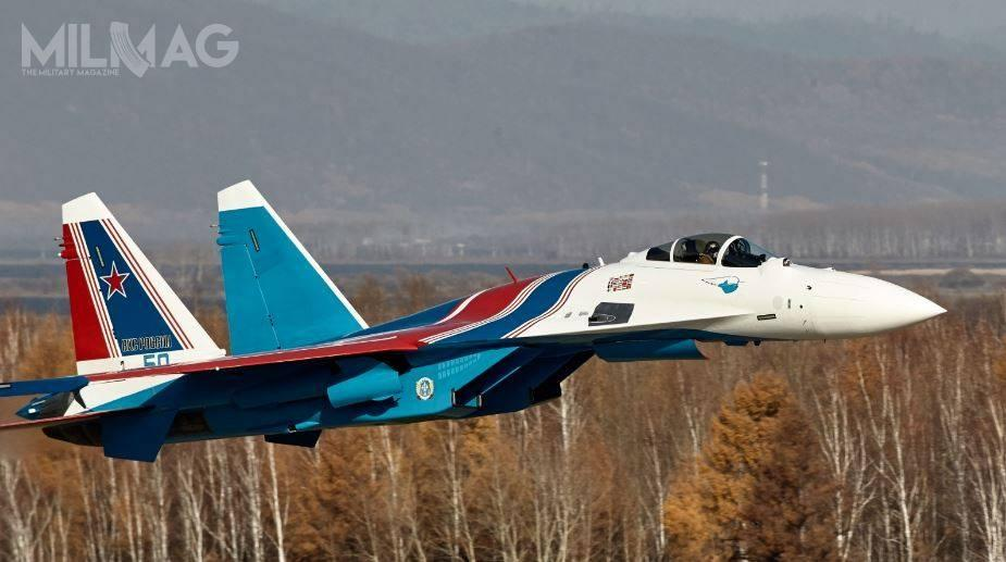 Grupa akrobacyjna Russkije Witjazi jest częścią 237. Centrum Demonstracyjnego Technologii Lotniczych 4. stopnia odznaczonego Czerwonym Sztandarem Wojskowego Centrum Badań iSzkolenia WKS im.W. P.Czkałowa. Została sformowana 5kwietnia 1991