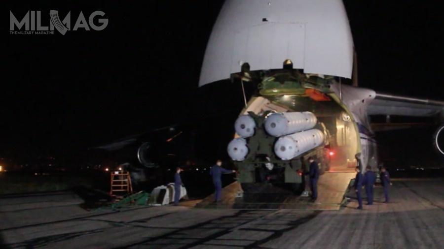 Transport zestawów przeciwlotniczych iprzeciwrakietowych dla Syrii odbył się pomiędzy 27 września, a3października. /Zdjęcie: Ministerstwo Obrony Federacji Rosyjskiej