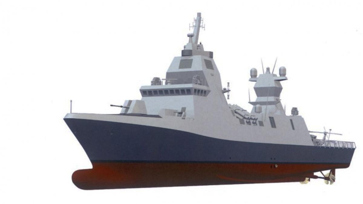 Izrael zamówił cztery korwety typu Sa'ar 6, które uzupełnią trzy jednostki typu Sa'ar 5/ Grafika: TKMS