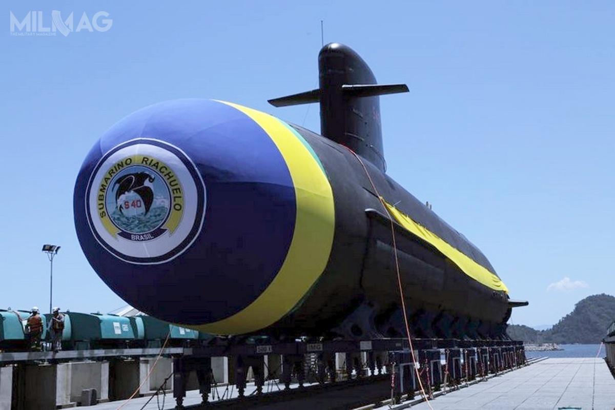 Brazylia zamówiła cztery okręty typu Scorpène (SB-R), które powstają wstoczni wojennej Itaguai namocy porozumienia otransferze technologii