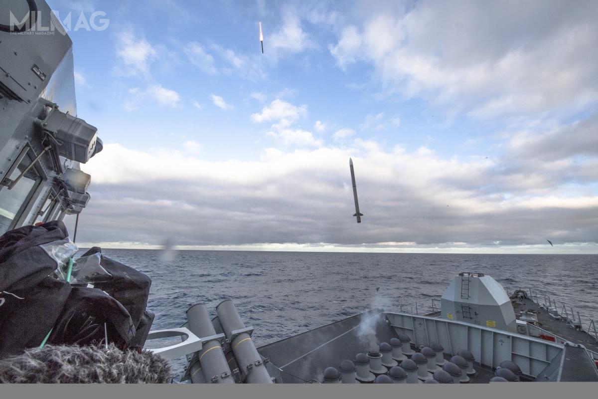Sea Ceptor jest morskim wariantem pocisków rakietowych krótkiego zasięgu klasy powierzchnia-powietrze CAMM