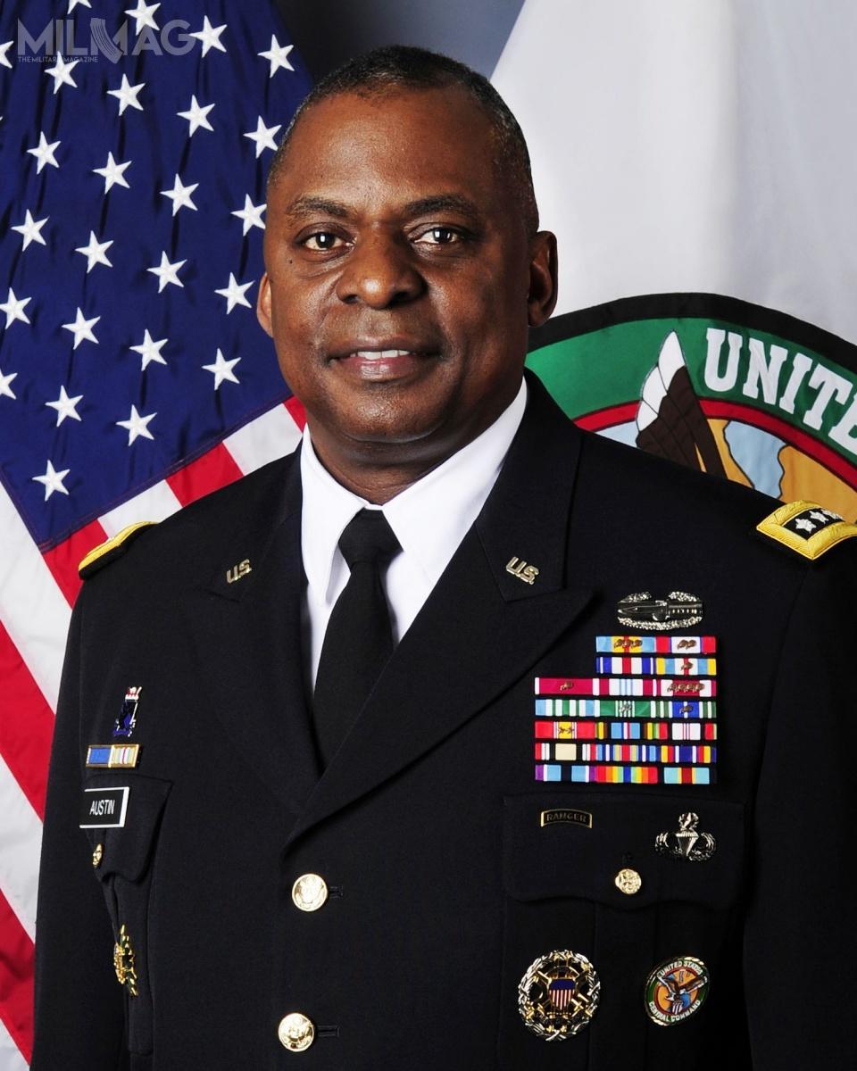 Nieoficjalnie, gen. wst. spocz. Lloyd James Austin III zostanie wskazany przezprzyszłego prezydenta Joe Bidena nastanowisko 28. sekretarza obrony USA / Zdjęcie: CENTCOM