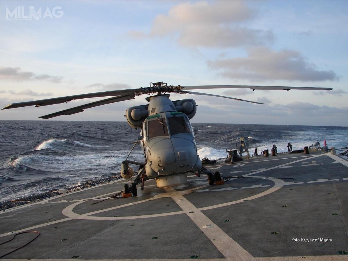 Cztery śmigłowce Kaman SH-2G Super Seasprite trafiły doMarynarki Wojennej RP wraz zdwoma fregatami rakietowymi typu Oliver Hazard Perry w2002 i2003 / Zdjęcie: Krzysztof Mądry, Gdyńska Brygada Lotnictwa Marynarki Wojennej