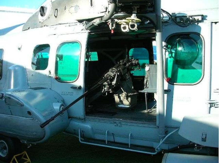 Podstawę SH20 dla 20-mm armaty 20M621 opracowano zmyślą owsparciu powietrznym nadystansach do2000 m. Opcjonalnie, dozestawu można zastosować celownik dzienno-nocny iwskaźnik laserowy / Zdjęcie: Nexter