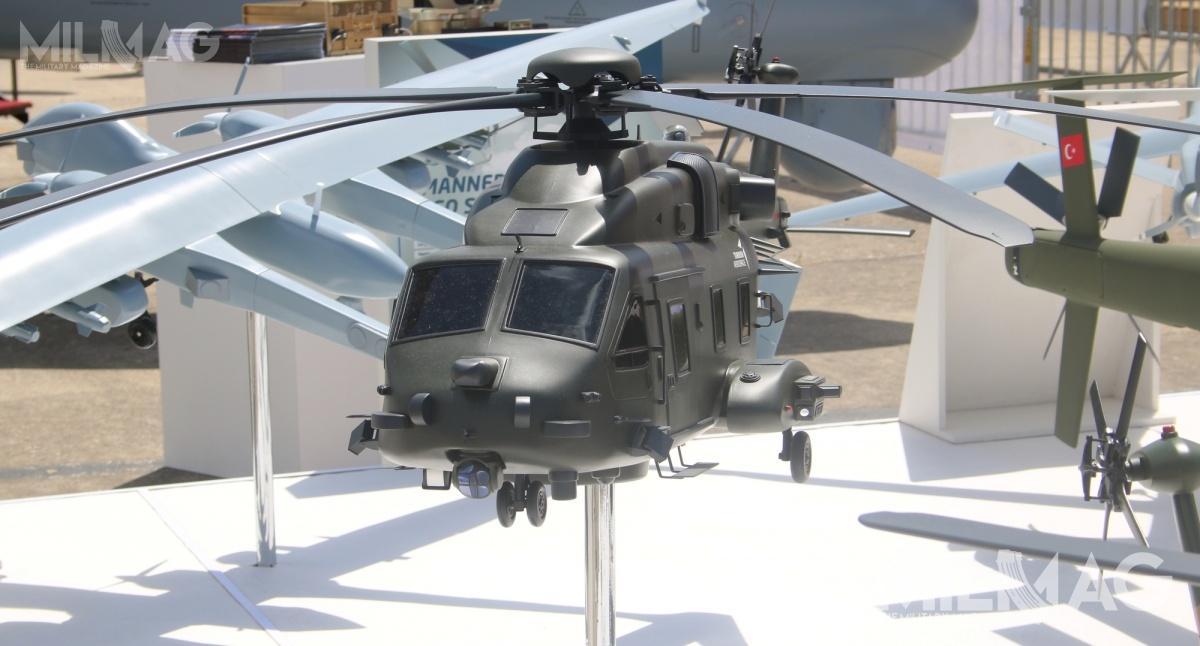 Nowy wiropłat mógłby trafić nawyposażenie skrzydła lotniczego naśmigłowcowcu desantowym TCG Anadolu  jako alternatywa dla 9-tonowego AS532 Cougar iuzupełnienie 12-tonowego CH-47 Chinook