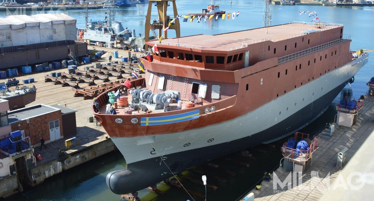 Projekt nowego okrętu przeznaczonego doprzechwytywania ianalizy sygnałów radiowych powstał wbiurze MMC Ship Design & Marine Consulting. Jednostka wejdzie dosłużby w2020 / Zdjęcia: Michał Szafran