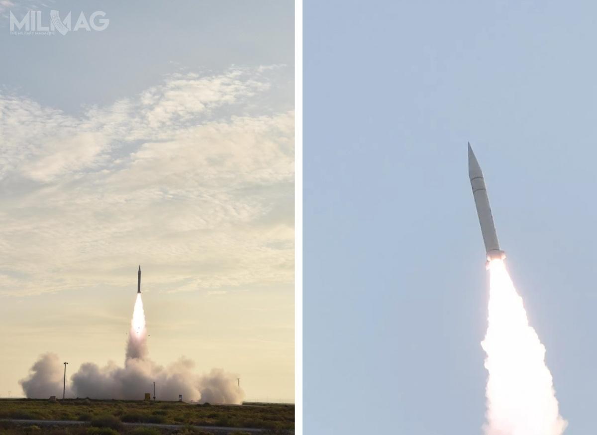 Ujawnione nagranie wideo prezentuje jedynie start pocisku rakietowego, zhipersonicznym pojazdem szybującym Star Air-2 jako ładunkiem, podczas fazy silnikowej lotu. /Zdjęcie: CAAA