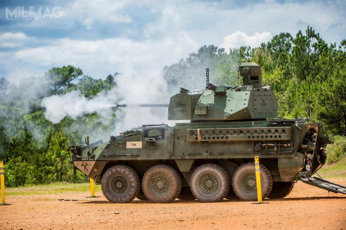 Podstawowym uzbrojeniem nowego wariantu KTO M1126 Stryker jest 30-mm armata automatyczna ATK XM813, opracowana przezOrbital ATK, będącą częścią Northrop Grumman.