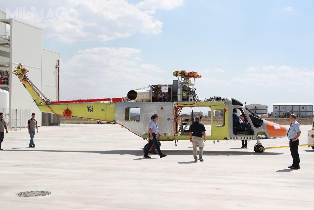 Makieta śmigłowca T625 została zaprezentowana naParis Air Show 2017. Zkolei ujawniony prototyp wydaje się być jeszcze niekompletny.