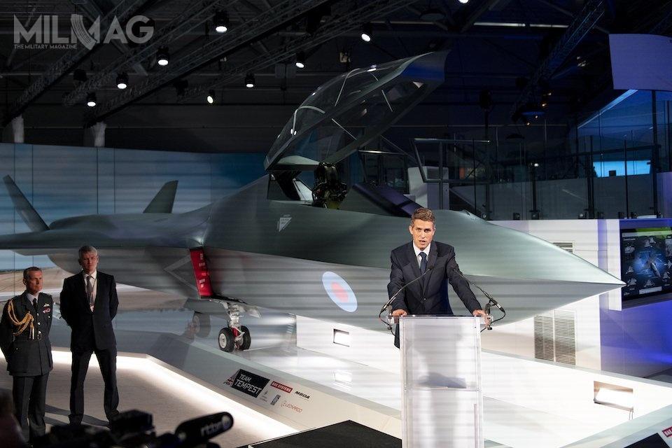 Pełnowymiarowa makieta samolotu nowej generacji Tempest została zaprezentowana podczas międzynarodowych targów lotniczych Farnborough 2018.