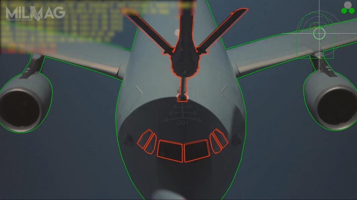 Komputer systemu A3R automatycznie wykrywa położenie sondy paliwowej samolotu tankowanego zapomocą algorytmów przetwarzania obrazu / Zdjęcie: Airbus DS