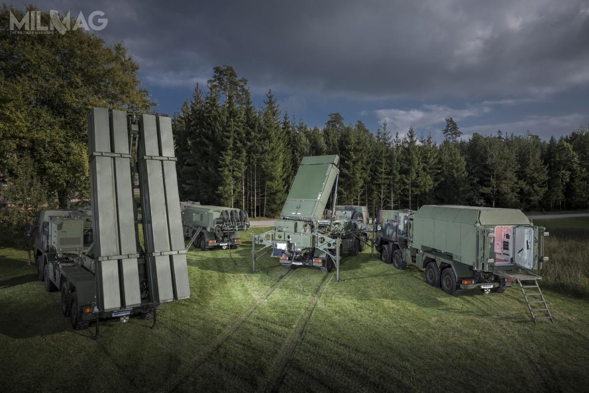 Przyszły niemiecki system obrony przeciwlotniczej iprzeciwrakietowej TLVS będzie oparty osieciocentryczne rozwiązania systemu MEADS.