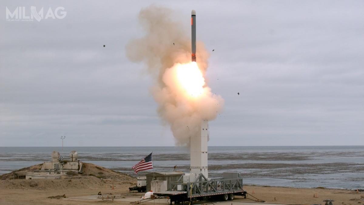 W sierpniu 2019 Departament Obrony przeprowadził próbę naziemnego pocisku manewrującego ztyposzeregu Tomahawk / Zdjęcie: Departament Obrony USA