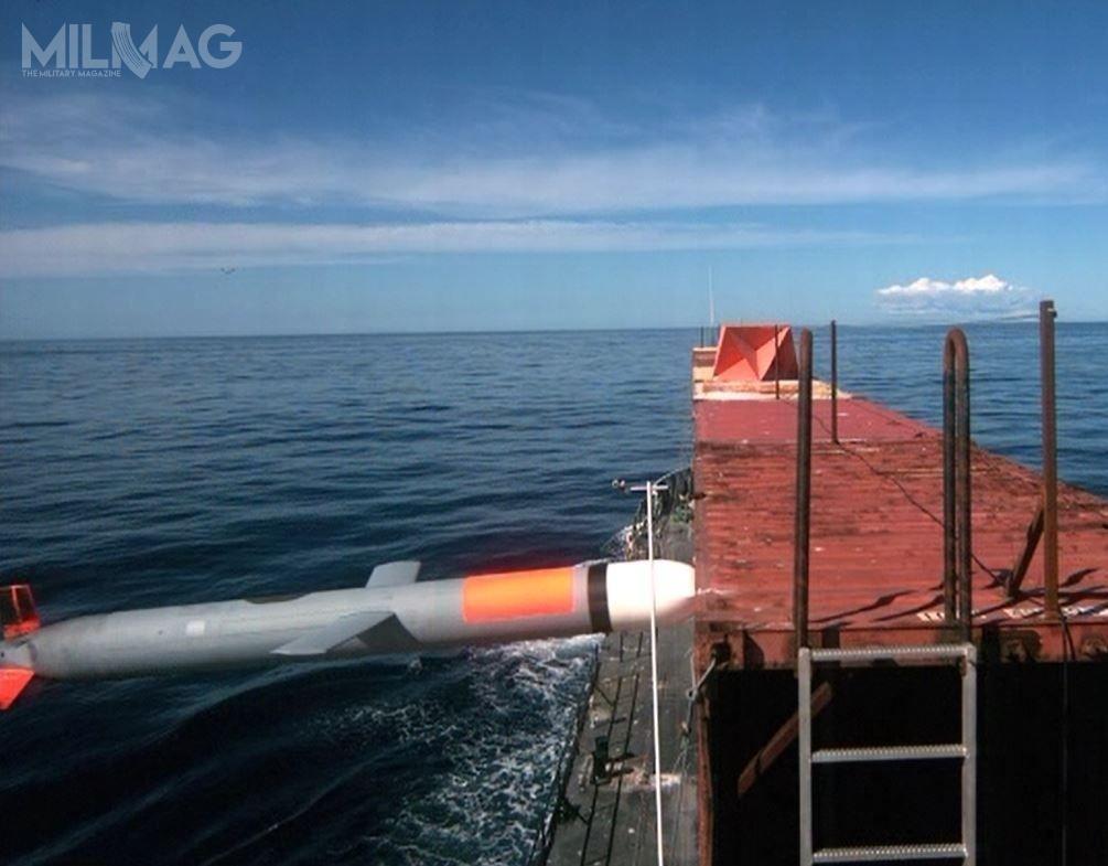USMC chce atakować zapomocą nowych pocisków okręty nawodne, co niejako wpisuje się wkoncepcję rozwijanego dla US Navy pocisku Maritime Strike Tomahawk / Zdjęcie: US Navy