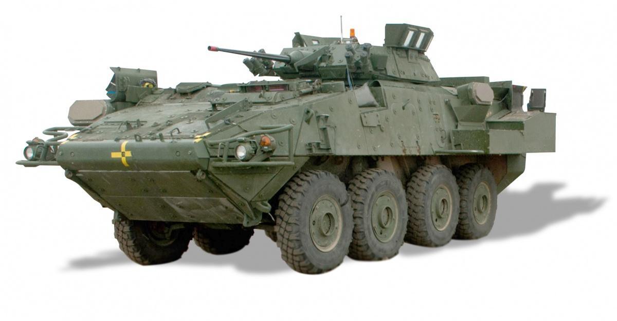 System obrony aktywnej Trophy, zintegrowany zKTO LAV III.