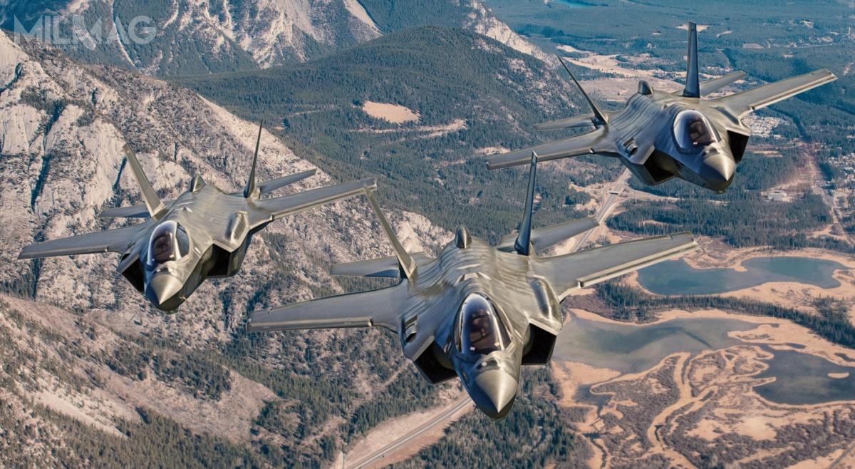 W poprzedniej edycji programu FFCP planowano zakup 65 CF-35 (wariant F-35A). Rząd iprzemysł Kanady uczestniczą wprogramie JSF od1997. Co ciekawe, nazaprezentowanej grafice widać, żesamoloty F-35A wyposażono wsystem wspomagania lądowania składający się zespadochronu hamującego wspecjalnej owiewce wtylnej części kadłuba. Jest torozwiązanie zaprojektowane dla norweskich samolotów, które ma znaleźć się również wpolskich F-35A. / Grafika: Lockheed Martin