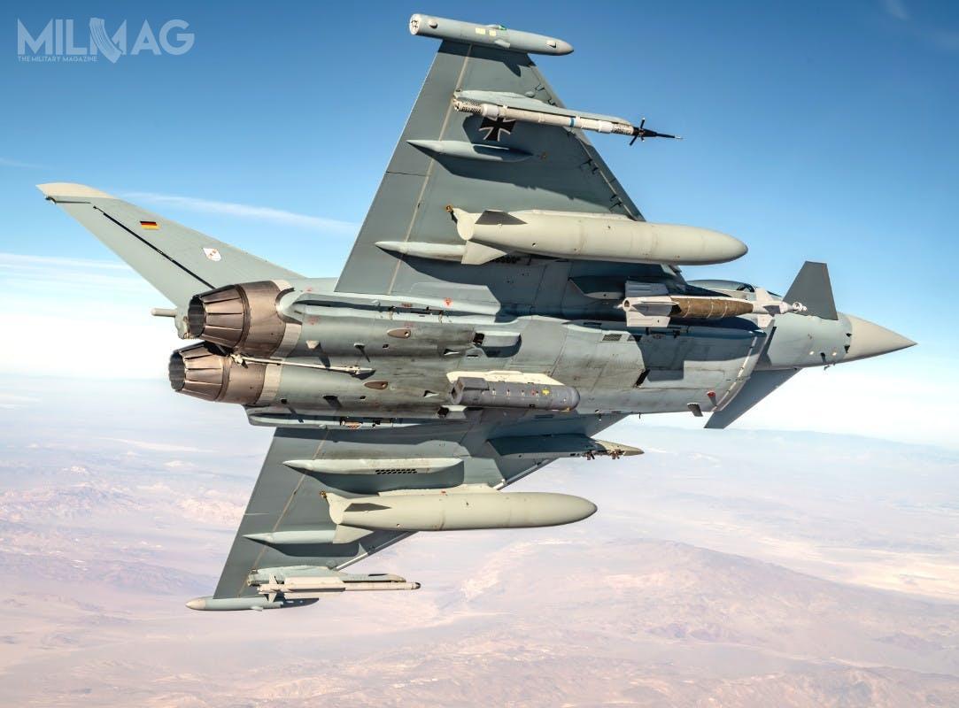 Luftwaffe szuka następcy 89 samolotów Panavia Tornado IDS/ECR. Wplanach jest zakup 40 samolotów rozpoznawczych iprzełamywania obrony przeciwlotniczej oraz45 dozadań szturmowych / Zdjęcie: Luftwaffe