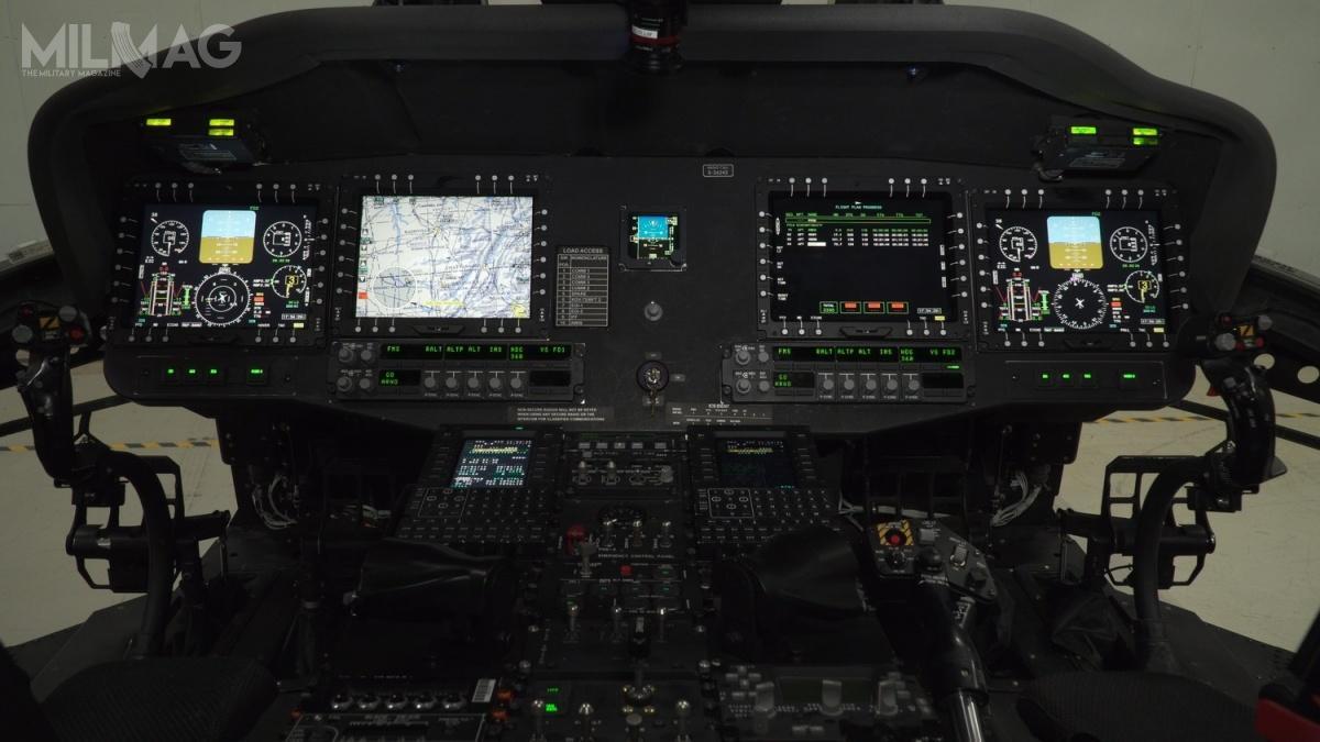Dzięki zastosowaniu tejsamej awioniki  wstandardzie FACE, szkolenie naśmigłowcach UH-60V iUH-60M zostanie wpełni ujednolicone / Zdjęcia: Northrop Grumman.