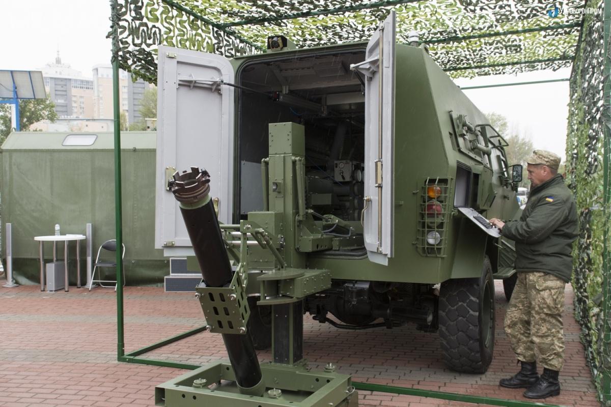 Jednostka ognia Bars-8MMK to60 granatów moździerzowych kalibru 120 mm / Zdjęcia: UkrOboronProm