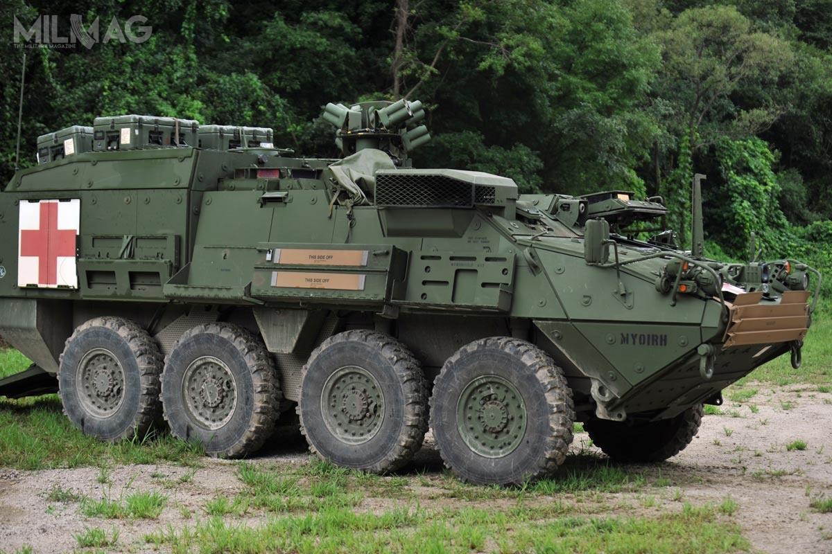 Wóz ewakuacji medycznej M1133 opiera się konstrukcyjnie natransporterze piechoty M1126 / Zdjęcia: US Army