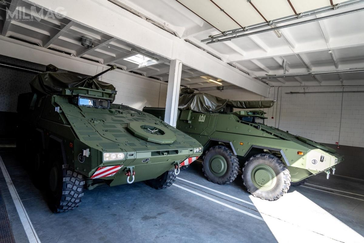 11 grudnia 2015 Litwa zapowiedziała zakup 88 transporterów opancerzonych GTK Boxer wwersji kbwp, a15 marca 2016 uzyskała zgodę nadołączenie doprogramu. / Zdjęcia: Lukas Tamošiūnas, Ministerstwo Obrony Litwy