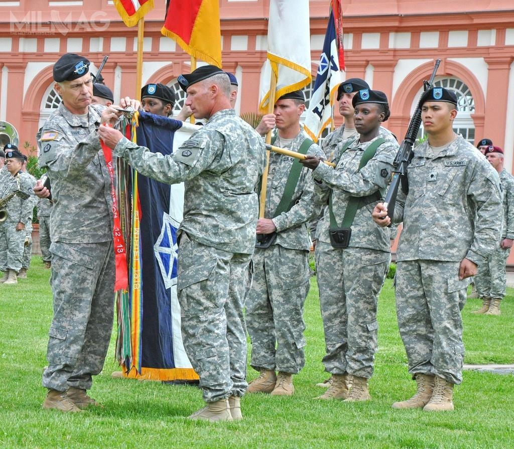 V Korpus istniał od1918 do2013, awlutym 2020 został reaktywowany nawniosek Dowództwa Europejskiego Stanów Zjednoczonych (EUCOM) wcelu wsparcia komponentu dowodzenia iwsparcia US Army wEuropie / Zdjęcie: US Army