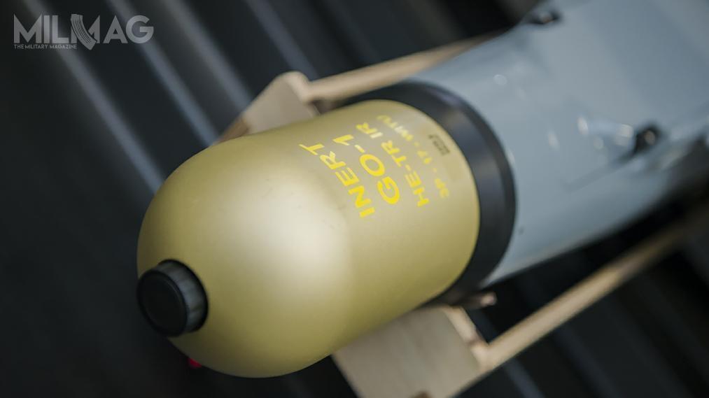 Warmate jest uzbrojony wgłowice bojowe opracowane przezWojskowy Instytut Techniczny Uzbrojenia /Zdjęcia: por. Robert Suchy/CO MON