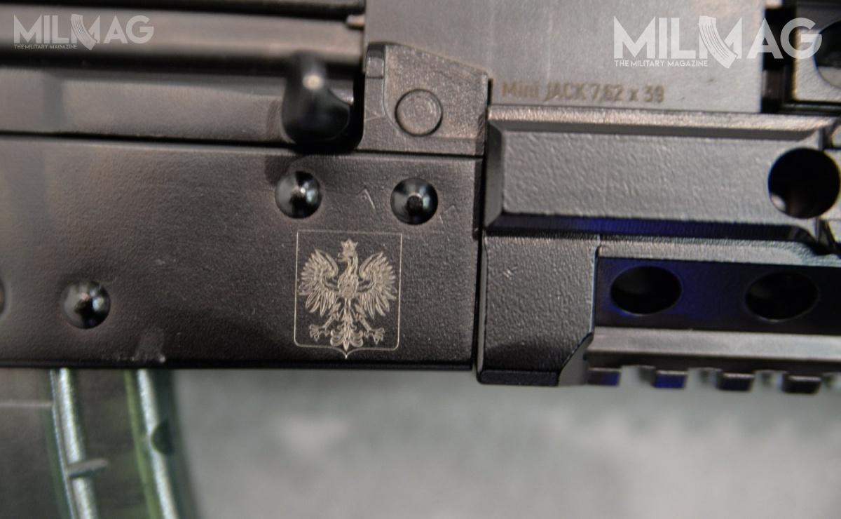 Nowy model otrzymał nazwę Mini Jack 7,62 x 39
