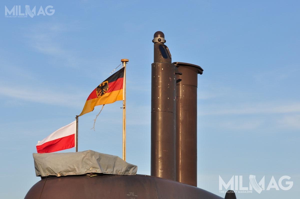 5 października dogdyńskiego portu wszedł zespół okrętów niemieckiej marynarki wojennej. Cztery jednostki uczestniczyły wmanewrach naBałtyku / Zdjęcia: Michał Szafran