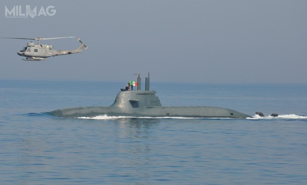 Zakup czterech nowych okrętów podwodnych pozwoli Włochom zachować osiem jednostek wlinii powycofaniu przestarzałych Nazario Sauro / Zdjęcie: Marynarka Wojenna Włoch