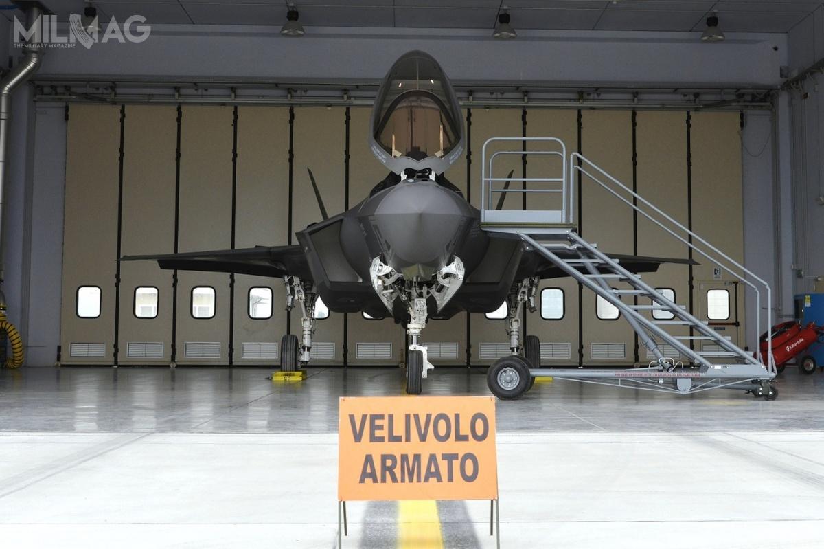Siły Powietrzne Włoch planują pozyskać 60 egzemplarzy F-35A do2027. Samoloty będą serwisowane wprzyszłości wFACO Cameri, które będzie pełnić funkcję europejskiego centrum serwisowego.