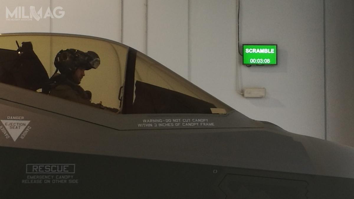 Włoskie F-35A mogą już pełnić dyżury QRA wzakresie startów alarmowych doprzechwytywania statków powietrznych, które naruszą przestrzeń powietrzną Włoch.