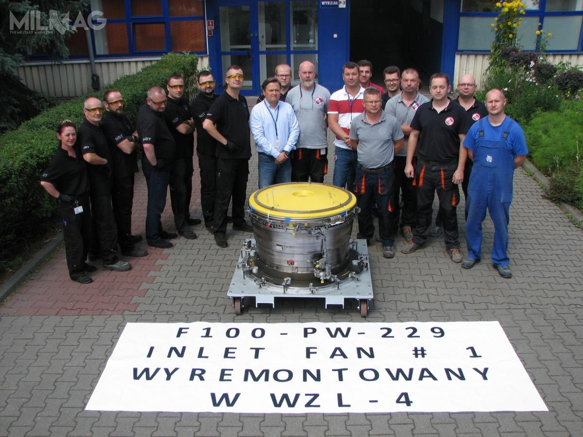 W lipcu 2018 amerykański koncern Pratt & Whitney poinformował, żesilniki rodziny F100 (ponad 7200) , napędzające samoloty F-16 iF-15, przekroczyły łącznie 28 mln godzin nalotu. Użytkowane m.in.przezWojsko Polskie F100-PW-229 (produkowane od1989) nieuległy jeszcze żadnemu poważniejszemu wypadkowi / Zdjęcie: Polska Grupa Zbrojeniowa